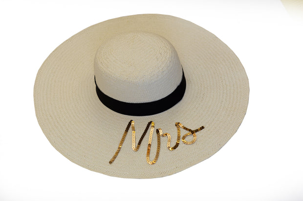Ivory Hat: Personalised