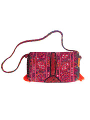 Boho Vintage - Sling Bag - Orange - Elizabeth Summer