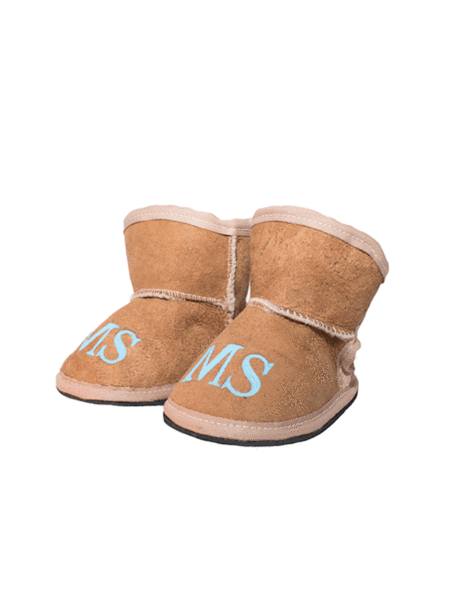 Kids	Slippers: Personalised (Mongrammed) - Elizabeth Summer