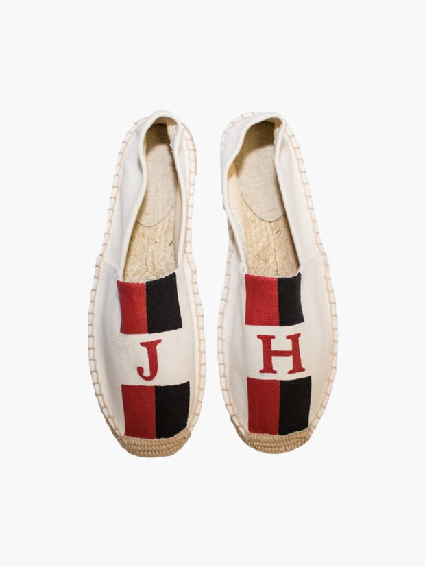 Monogram Espadrilles: Personalised