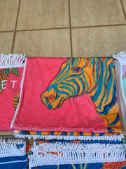 Beach Towel - Zebra Large Ed2