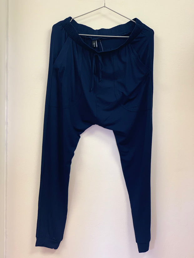 SLICK Bianca Harem Pants - Navy
