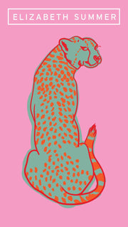 Beach Towel - Cheetah - Elizabeth Summer