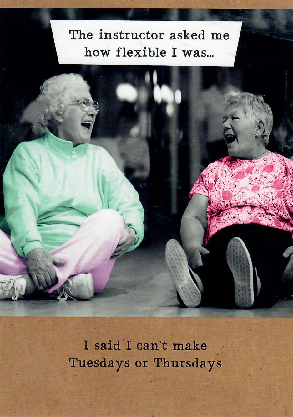 Women Laughing Card