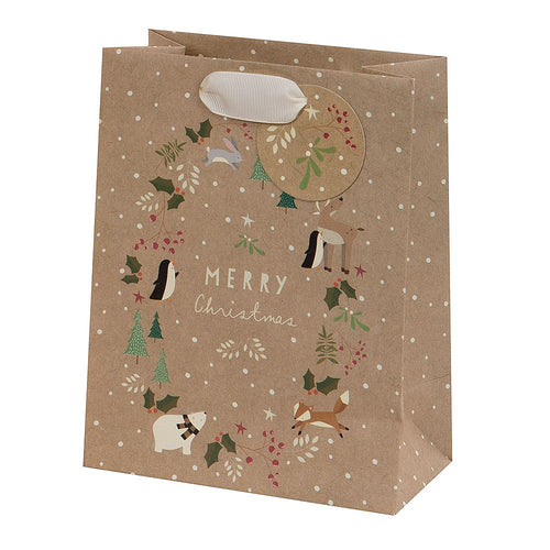 Large Christmas Friends Bag
