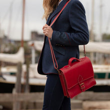 Load image into Gallery viewer, Red Casablanca Mini Satchel