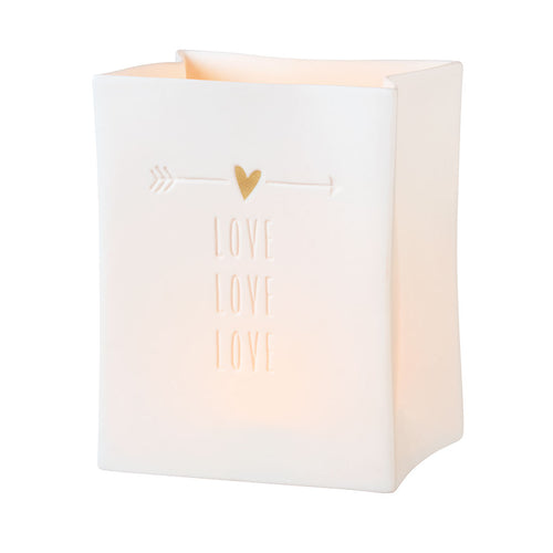 Love Porcelain Light Bag