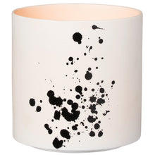 Load image into Gallery viewer, White & Black Splatter Lantern