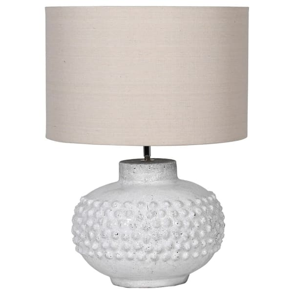 Crackle Glaze Bobble Lamp