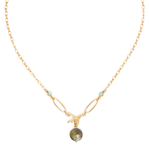 Andrea Coral Necklace