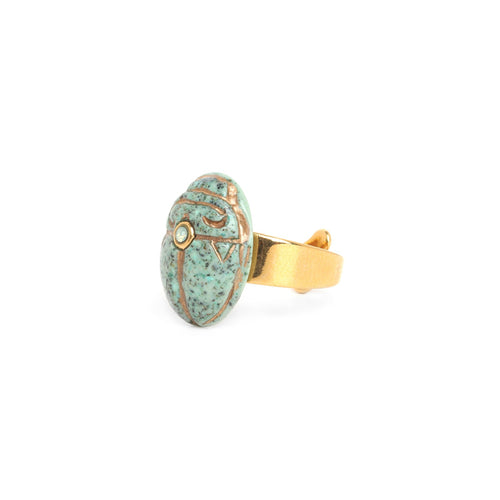 Andrea Scarab Ring