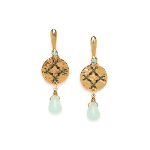 Andrea Disc Earrings