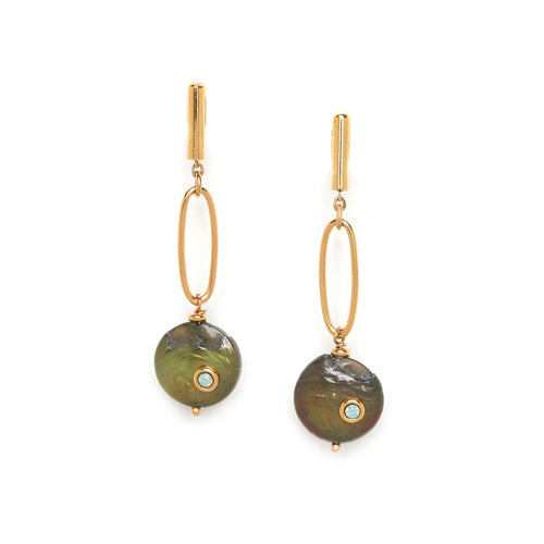 Andrea Pearl Earrings