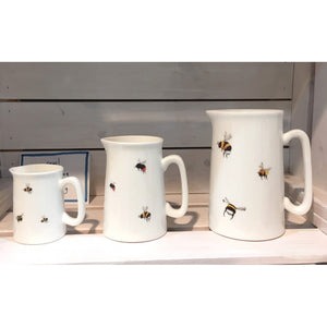 Medium Bone China Bee Jug