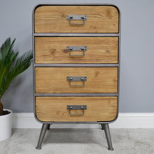 Load image into Gallery viewer, Industrial Cabinet - 4 Drawers