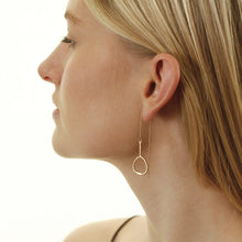 Load image into Gallery viewer, Gold Plated Eve Drop Earrings