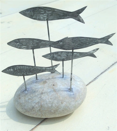 Fish On Pebble