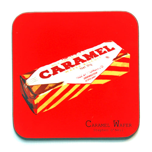 Caramel Wafer Coaster