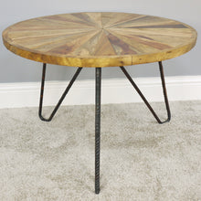 Load image into Gallery viewer, Industrial Round Coffee Table
