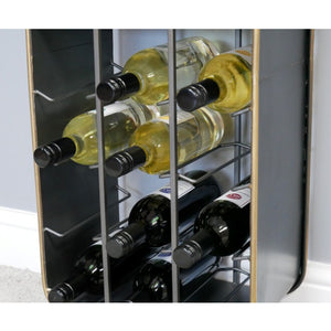 Industrial Small Wine Cabinet