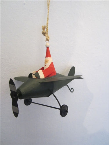Flying Santa Decoration