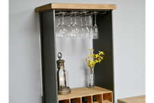 Load image into Gallery viewer, Industrial Wine Cabinet