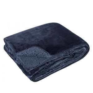 Blue Softest Fleece Throw