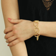 Load image into Gallery viewer, Gold Plated Ally Bracelet