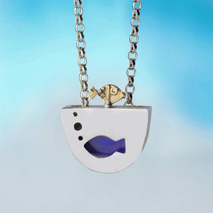 Jumping Fish Pendant