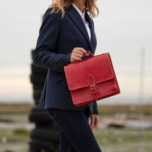 Red Casablanca Mini Satchel