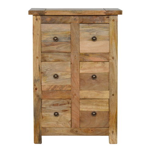 Granary CD Cabinet - 6 Drawer