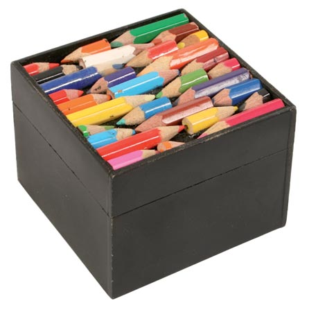 Square Pencil Box
