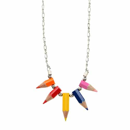 Pencil Point Necklace