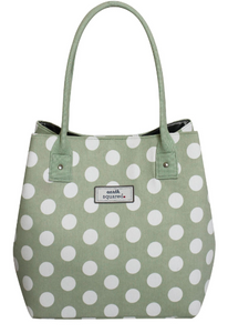 Mint Spotty Slouch Bag