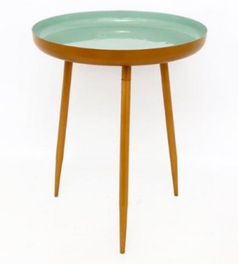 Small Mint Green Deep Table
