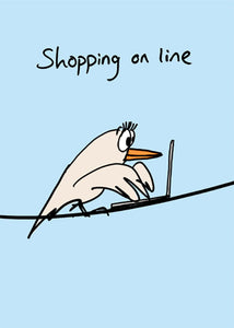 Shopping On Line Card