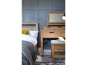 Light Finish Dressing Table
