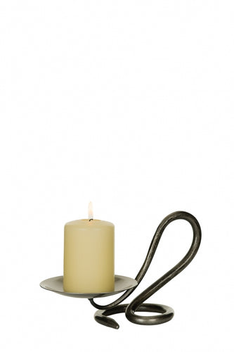 Single Round Candleholder