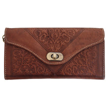 Load image into Gallery viewer, Dark Brown Decorative Purse