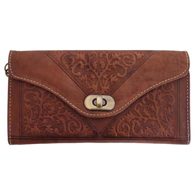 Dark Brown Decorative Purse