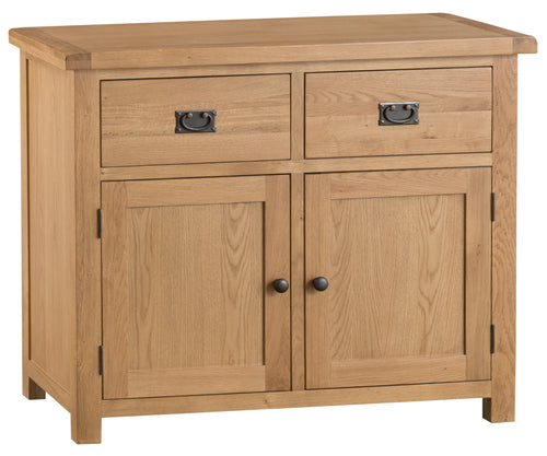 Oak 2 Door 2 Drawer Sideboard