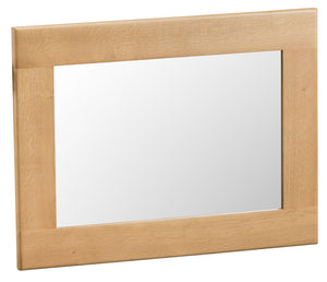 Oak Small Wall Mirror