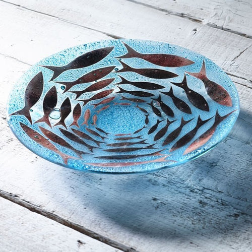 Cornish Pilchards 28Cm Round Bowl