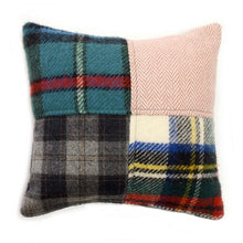 Load image into Gallery viewer, Tartan & Tweed Wool Cushion