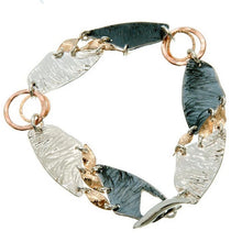 Load image into Gallery viewer, Beautiful Mixed Metals Bracelet