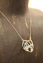 Load image into Gallery viewer, Woven Nest Necklace