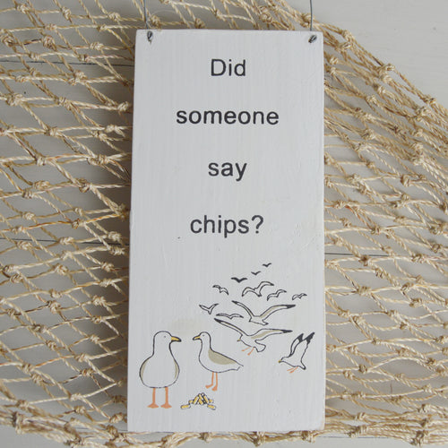 Did Someone Say Chips? Decoration