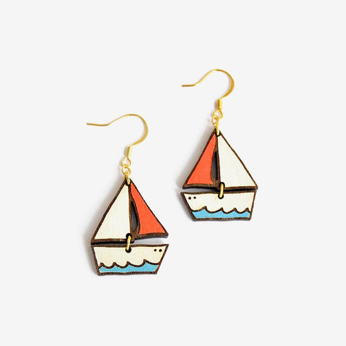 Dreamy Boat Earrings