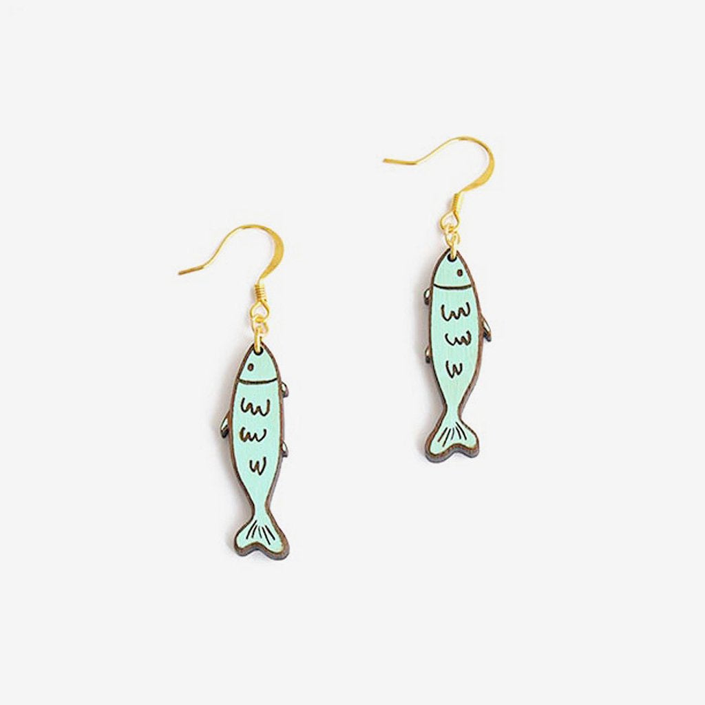 Sardine Earrings