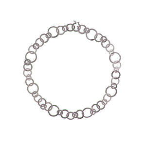 Silver Circles Necklace